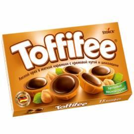 Конфеты Toffifee, 125г, картонная коробка