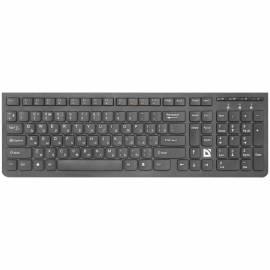 Клавиатура беспроводная Defender UltraMate SM-535, USB, черный