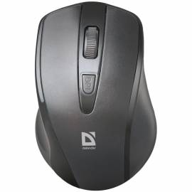 Мышь беспроводная Defender Datum MM-265, черный, 3btn+Roll