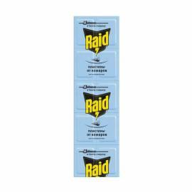 Пластины от комаров для фумигатора Raid, 10шт.