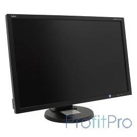 """NEC 24"""" E245WMi-BK Black PLS 250cd/m2,1000:1,6ms,1920x1200,178/178, 16:10Hight adj:110,Swiv,Tilt,PivotDVI-D,D-sub, Displ.Port I"""