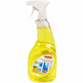 "Средство для мытья стекол и зеркал OfficeClean ""Лимон"" 750мл, с курком"