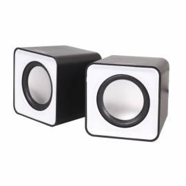 Колонки Smart Buy MINI, 2*2,W, питание от USB, черный