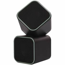 Колонки Smart Buy CUTE, 2*3,W, питание от USB, серый, черный