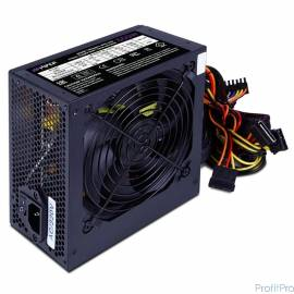 HIPER Блок питания HPB-650 (ATX 2.31, 650W, Active PFC, 80Plus BRONZE, 140mm fan, черный) BOX