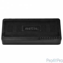 Netis ST3108S Коммутатор, неуправляемый, 8-портовый 10/100 Мбит/с, настольный, пластиковый корпус