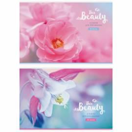 """Альбом для рисования 20л., А4, на скрепке ArtSpace """"Цветы. This beauty"""", обложка-офсет"""