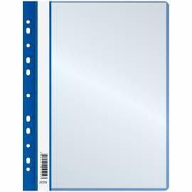 Папка с 10 вкладышами OfficeSpace, с перфорацией, 160мкм, синяя
