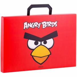 Папка-портфель 1 отд. Hatber ANGRY BIRDS, A4