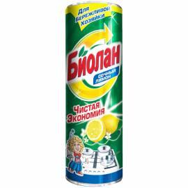 """Средство чистящее Биолан """"Сочный Лимон"""", порошок, 400г"""