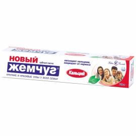 """Зубная паста Новый Жемчуг """"Кальций"""", 75мл"""