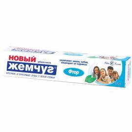 """Зубная паста Новый Жемчуг """"Фтор"""", 75мл"""