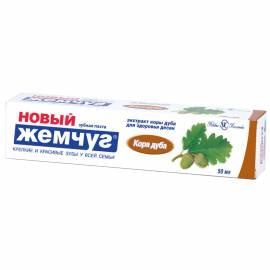 "Зубная паста Новый Жемчуг ""Кора Дуба"", 50мл"