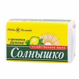 Мыло хозяйственное Солнышко, с ароматом лимона, 140г