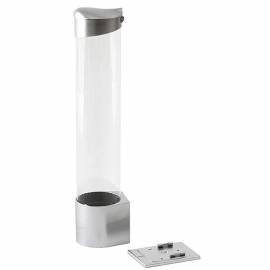 Стаканодержатель A.E.L., на магните, пластик, серебро
