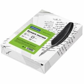 Бумага писчая OfficeSpace, А4 500л. белизна 92%, 60г/м2