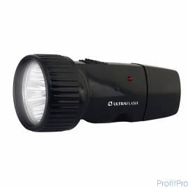 Ultraflash LED3850 (фонарь аккум.220В, черный, 5 LED, 1 x Ni-Cd, пластик, коробка)
