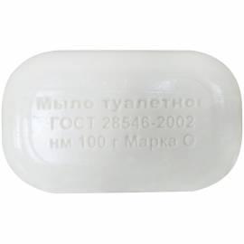 """Мыло туалетное Меридиан """"Натуральное"""", 100г, без упаковки"""
