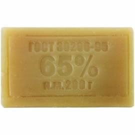 Мыло хозяйственное 65% Меридиан, 200г, без упаковки