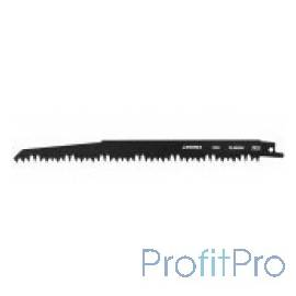 Полотно STAYER S1531L к саб эл.ножов Cr-V,спец закал зубья,быстр грубый рез,тв. и мягк. древесина,обрезка деревьев [159456]