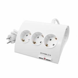 Сетевой фильтр Старт, 5 розеток, 2 USB порта output 2,1А, 16А, 1,5м, белый