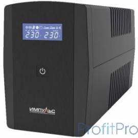 Импульс ИБП Юниор Смарт 800 LED,черный JS80113