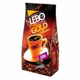 """Кофе молотый LEBO """"Gold"""", арабика, для заваривания в чашке, вакуумный пакет, 100г"""