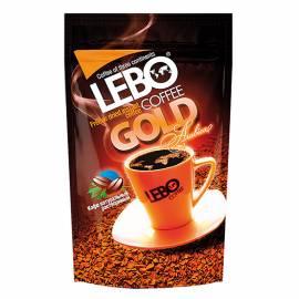 """Кофе растворимый LEBO """"Gold"""", сублимированный, мягкая упаковка, 100г"""