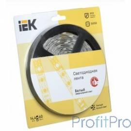 Iek LSR2-1-060-20-1-05 Лента LED 5м блистер LSR-5050WW60-14,4-IP20-12V теплый белый
