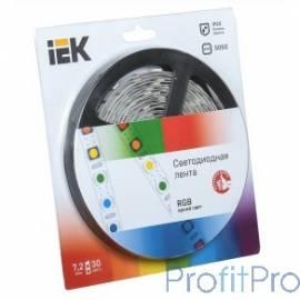 Iek LSR2-3-030-20-1-05 Лента LED 5м блистер LSR-5050RGB30-7,2-IP20-12V красный/зеленый/синий