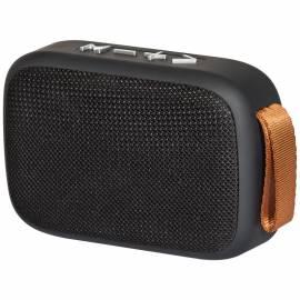 Колонка портативная Defender Enjoy S300, 1*3W, Bluetooth, FM, microSD, USB, часы, 300 мА*ч, черный