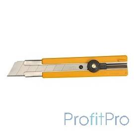 Нож OLFA с выдвижным лезвием, с резиновыми накладками, 25мм [OL-H-1]