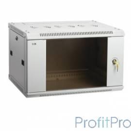ITK Шкаф LINEA W 15U 600x450 мм дверь стекло, RAL7035 [LWR3-15U64-GF]