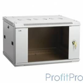 ITK Шкаф LINEA W 6U 600x600 мм дверь стекло, RAL7035