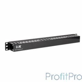 """ITK 19"""" пластиковый каб. органайзер с крышкой, 1U, чер CO05-1PC"""
