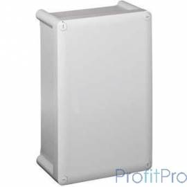 Legrand 035900 Коробка промышленная пластиковая - IP 55 - IK07 - RAL 7035 - 130 x 75 x 74 мм - сплошная крышка