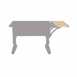 Полка боковая ДЭМИ СУТ 39.290 к столу СУТ 41/43, 550*250мм, серый пластик/дуб сонома