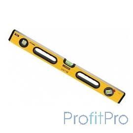 """Уровень STAYER """"PROFI"""" PROSTABIL профессион коробчатый, усилен, 2 фрезер поверх, 3 ампулы (1 поворотная), ручки, 60 см [3471-06"""