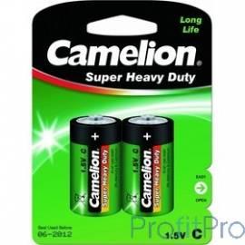 Camelion R14 BL-2 (R14P-BP2G, батарейка,1.5В)