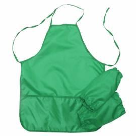 Фартук с нарукавниками Оникс, 53*45см, 2 кармана, зеленый