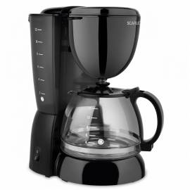 Кофеварка капельная Scarlett SC-CM33007, 750Вт, 1,25л, черная