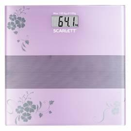 Весы напольные Scarlett SC-BS33E060, электронные, стекло, 150кг