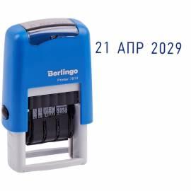 "Датер ленточный Berlingo ""Printer 7810"", пластик, 1стр., 3мм, русский, блистер"