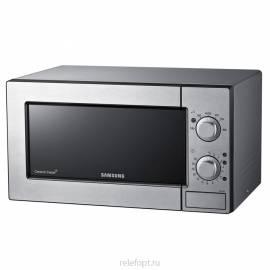 Микроволновая печь (СВЧ) Samsung ME-712MR, механическое управление, металлик