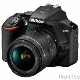"""Nikon D3500 черный 24.2Mpix 18-55mm f/3.5-5.6 VR AF-P 2.9"""" 1080p Full HD SDXC Li-ion (с объективом)"""
