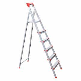 Стремянка стальная 6 ступеней, нагрузка до 150кг, облегченная, вес 4,5кг