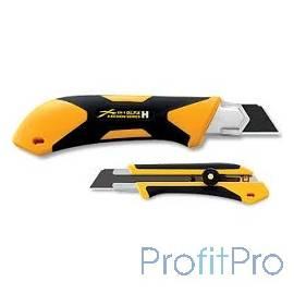 Нож OLFA с выдвижным лезвием, двухкомпонентный корпус, трещоточный фиксатор, 25мм [OL-XH-1]