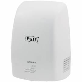 Сушилка для рук Puff 8815, 1000Вт,пластик, 150*148*220 мм, белый