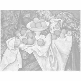 """Холст на картоне с контуром Сонет """"Яблоки и апельсины"""", 30*40см"""