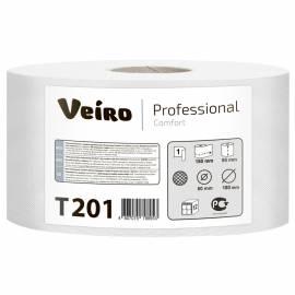 "Бумага туалетная Veiro Professional ""Comfort""(Q2), 180м/рул., тиснение, белая"